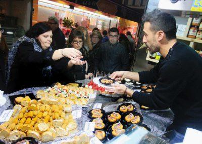 Girona. Girona 10. Mercat del Lleó, tastets ACCMLL.