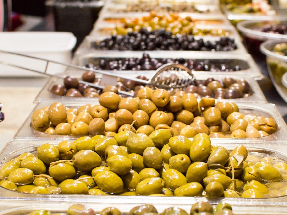 Pesca salada consol al Mercat del Lleó de Girona