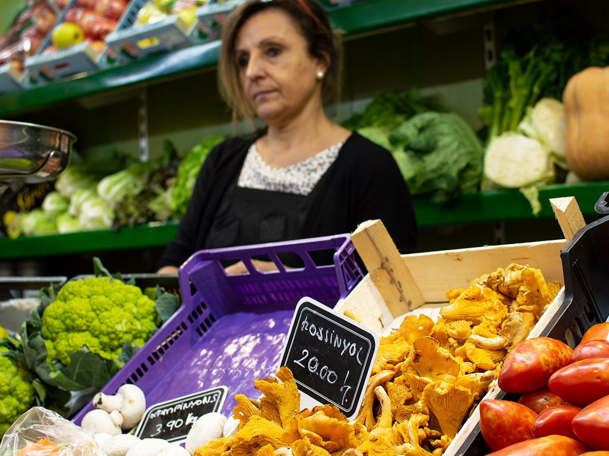 Fruita i Verdura Dolors i Montse - Mercat del Lleó de Girona