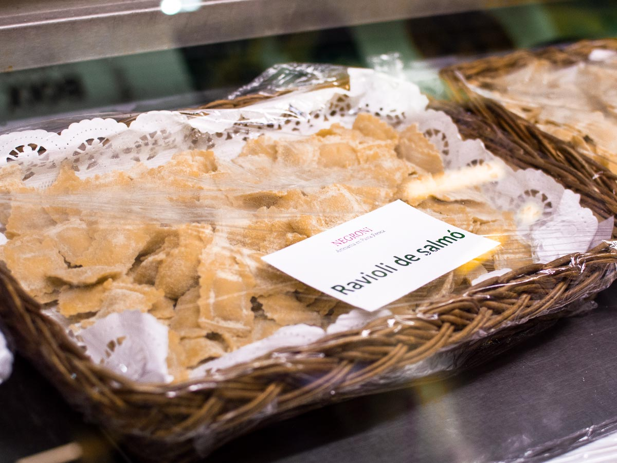 Pasta fresca Negroni
