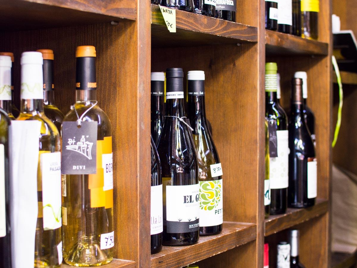 Vins, caves i licors DIVÍ