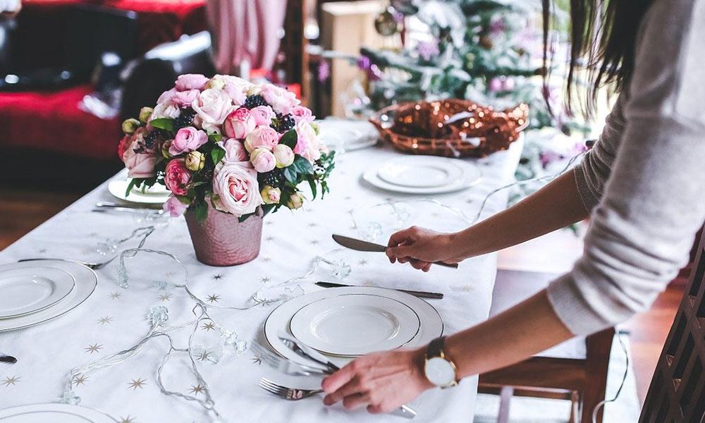 Idees per decorar la taula de Nadal