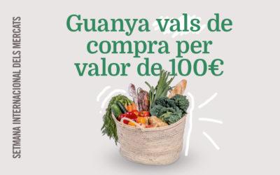 Guanya vals de compra valorats en 100€#estimoelmeumercat