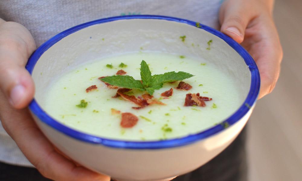 Recepta de sopa de meló